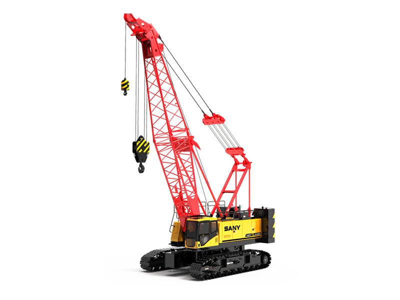 南通三一90吨履带吊出租-履带式起重机SCC900A